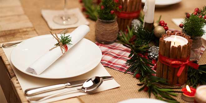 Apparecchiare tavola capodanno decorazioni per allestimenti fai da te - Decorazioni tavola capodanno fai da te ...