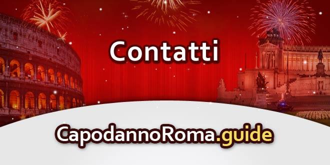 contatti per informazioni sul capodanno a roma