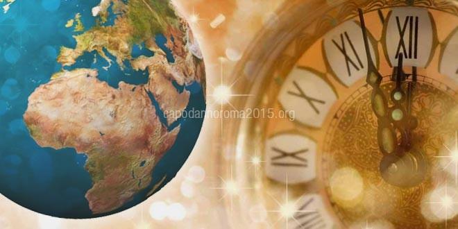 Le date del Capodanno nel Mondo