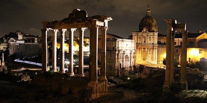 il foro romano a roma