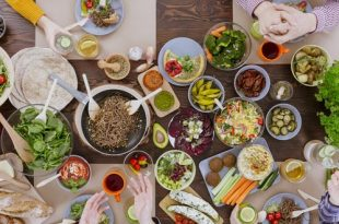 menu vegetariano per il Capodanno