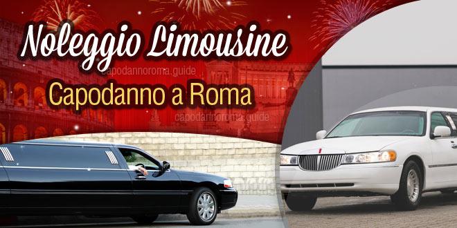 noleggio limousine per capodanno roma
