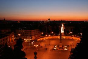 piazza del popolo a roma