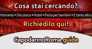 richiesta locale per capodanno a roma